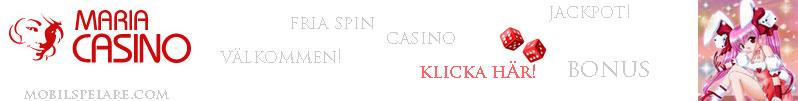 Välkommen till Casino Maria!