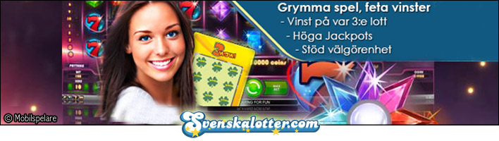 Svenska Lotter -  ett svenskare casino