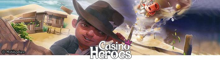 Slå bossarna hos Casino Heroes