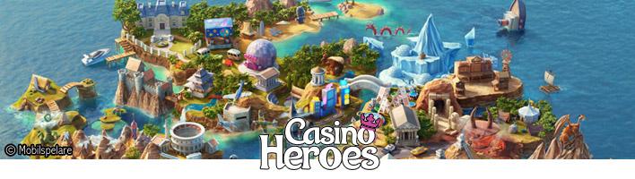 Vinn mer hos Casino Heroes