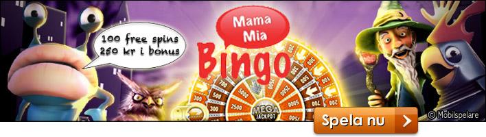 mamamia bingo välkomsterbjudande