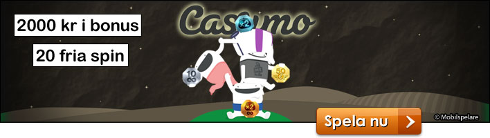Casumo Bonus & Fria spin